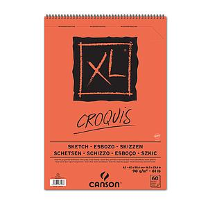 CANSON CROQUIS 90GR - DINA2 - 60V.
