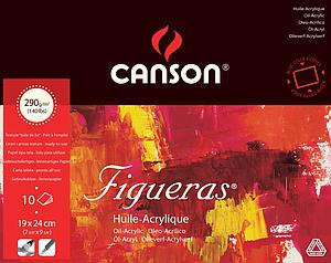 CANSON FIGUERAS 290GR - 19X24 - 10V.