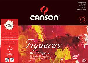 CANSON FIGUERAS 290GR - 24X33 - 10V.