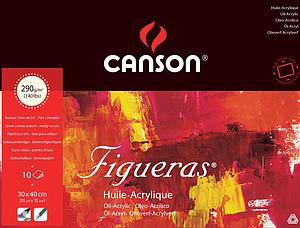 CANSON FIGUERAS 290GR - 30X40 - 10V.
