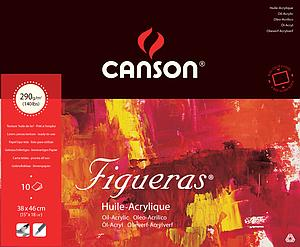 CANSON FIGUERAS 290GR - 38X46 - 10V.