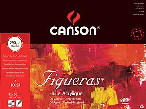 CANSON FIGUERAS 290GR - 42X56 - 10V.