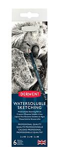 DERWENT WATERSOLUBLE SKETCHING PENCILS SET - 6 STUKS