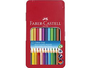 FABER-CASTELL COLOUR GRIP SET - 12 STUKS