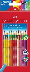 FABER-CASTELL COLOUR GRIP SET - 24 STUKS