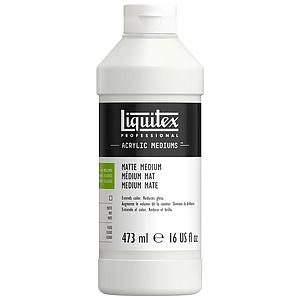 LIQUITEX - PROF. MATTE FLUID MEDIUM - 473ML