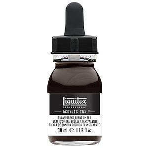 ACRYLIC INK - 30ML - 130 TRANSPARENT BURNT UMBER
