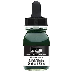 ACRYLIC INK - 30ML - 315 SAP GREEN PERMANENT