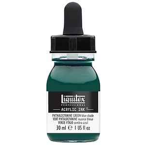 ACRYLIC INK - 30ML - 317 PHTHALOCYANINE GREEN (BLUE SHADE)