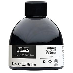 ACRYLIC INK - 150ML - 337 CARBON ZWART