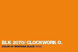 MONTANA BLACK SPUITVERF 400ML - BLK2070 CLOCKWORK ORANGE