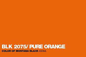 MONTANA BLACK SPUITVERF 400ML - BLK2075 PURE ORANGE