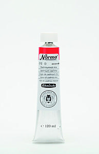 SCHMINCKE NORMA PROFESSIONAL OLIEVERF 120ML - 312 CADMIUMROOD MIX