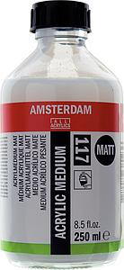 AMSTERDAM ACRYL MEDIUM MAT - 250ML