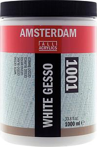 AMSTERDAM GESSO WIT - 1L