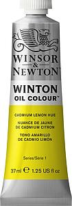 W&N WINTON OIL COLOUR 37ML - 087 CADMIUM CITROENGEEL TINT