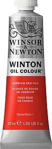 W&N WINTON OIL COLOUR 37ML - 095 CADMIUMROOD TINT