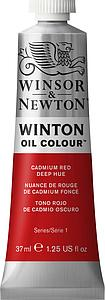 W&N WINTON OIL COLOUR 37ML - 098 CADMIUMROOD DONKER TINT