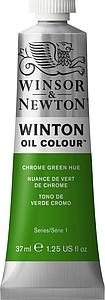 W&N WINTON OIL COLOUR 37ML - 145 CHROOMGROEN TINT
