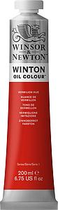 W&N WINTON OIL COLOUR 200ML - 682 VERMILJOEN