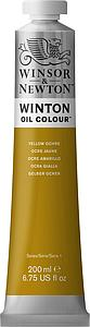 W&N WINTON OIL COLOUR 200ML - 744 OKERGEEL
