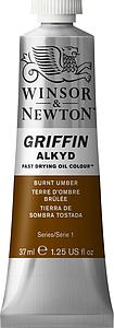 W&N GRIFFIN ALKYD 37ML - 076 OMBER GEBRAND