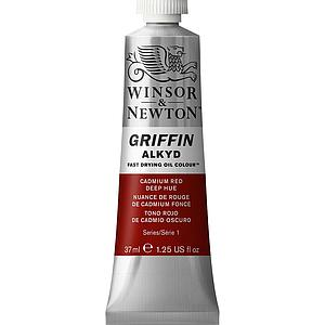 W&N GRIFFIN ALKYD 37ML - 098 CADMIUMROOD DONKER TINT