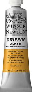 W&N GRIFFIN ALKYD 37ML - 115 CADMIUMGEEL DONKER TINT