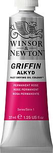 W&N GRIFFIN ALKYD 37ML - 501 PERMANENT ROZE