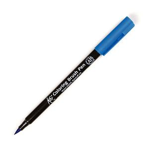 KOI COLORING BRUSH - 25 CERULEAN BLUE