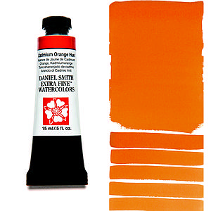 DS WATERCOLOR - 15ML - CADMIUM ORANGE HUE
