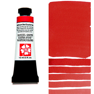 DS WATERCOLOR - 15ML - CADMIUM RED SCARLET HUE