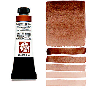 DS WATERCOLOR - 15ML - BURGUNDY RED OCHRE
